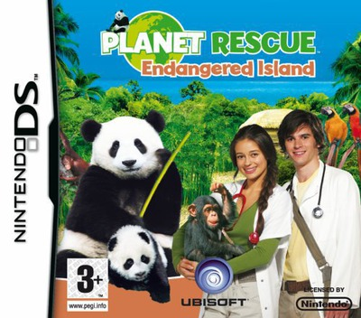 Planet Rescue - Endangered Island DS coverM (CGQP)