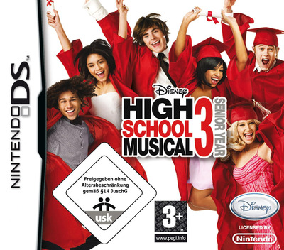 High School Musical 3 - Senior Year DS coverM (CHMP)