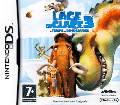 Ice Age 3 - Dawn of the Dinosaurs DS coverM (CI3Y)