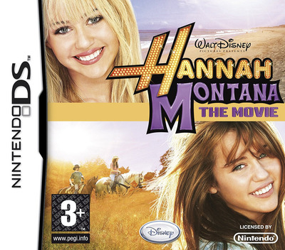 Hannah Montana - The Movie DS coverM (CI7Y)