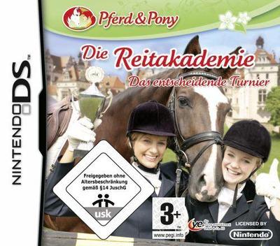 Pferd & Pony - Die Reitakademie - Das Entscheidende Turnier DS coverM (CJXP)