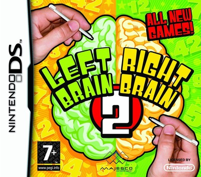 Left Brain, Right Brain 2 DS coverM (CKBX)