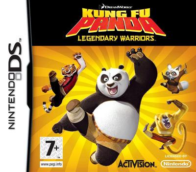 Kung Fu Panda - Legendary Warriors DS coverM (CKFP)