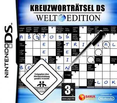 Kreuzworträtsel DS - Welt Edition DS coverM (CL2D)