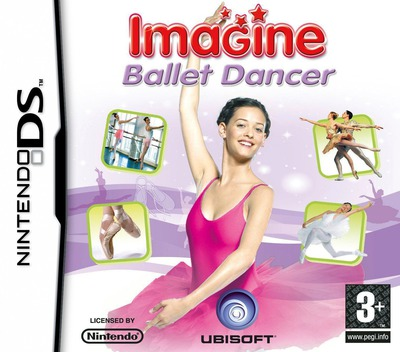 Imagine - Ballet Dancer DS coverM (CLBP)