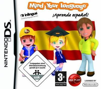 Mind Your Language - Aprende Espanol! DS coverM (CLYP)