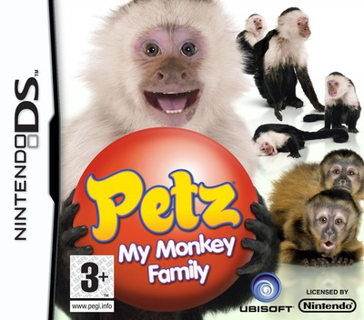 Petz - My Monkey Family DS coverM (CM8P)