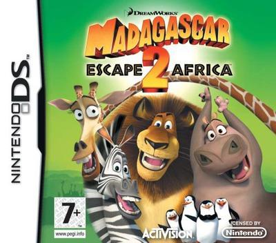 Madagascar - Escape 2 Africa DS coverM (CMGP)