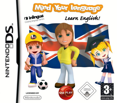Mind Your Language - Learn English! DS coverM (CMWP)