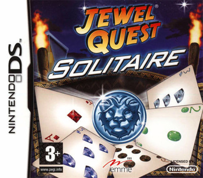 Jewel Quest - Solitaire DS coverM (CNAF)