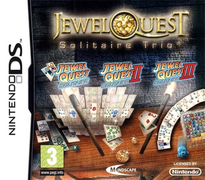 Jewel Quest - Solitaire Trio DS coverM (CNAX)
