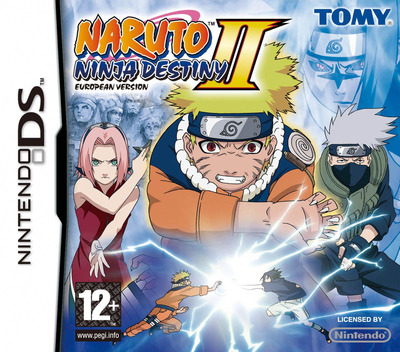 Naruto - Ninja Destiny II - European Version DS coverM (CNRP)