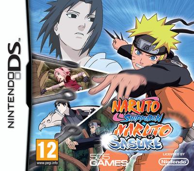 Naruto Shippuden - Naruto vs Sasuke DS coverM (CNSX)
