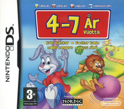 Reader Rabbit - Play & Learn - age 4-7 DS coverM (CR5X)