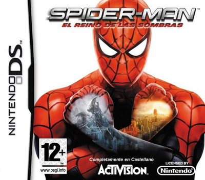 Spider-Man - Web of Shadows DS coverM (CS5X)