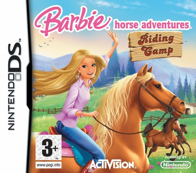 Barbie Horse Adventures - Riding Camp DS coverM (CSCP)
