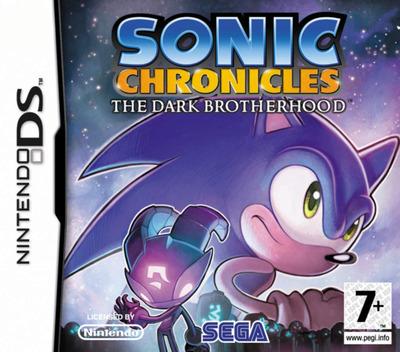 Sonic Chronicles - The Dark Brotherhood DS coverM (CSNP)