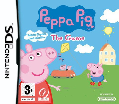 Peppa Pig - The Game DS coverM (CUPP)