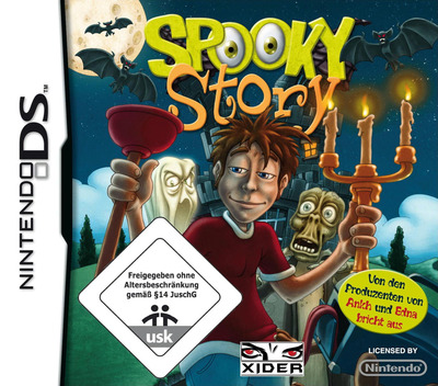 Spooky Story DS coverM (CUQD)