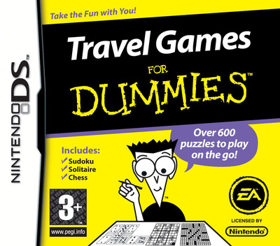 Travel Games for Dummies DS coverM (CVMP)