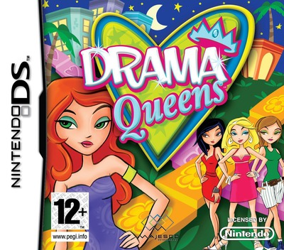 Drama Queens DS coverM (CYQP)
