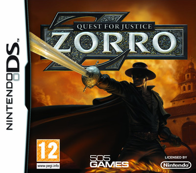 Zorro - Quest for Justice DS coverM (CZ4P)