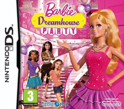 Barbie Dreamhouse Party DS coverM (TBAP)
