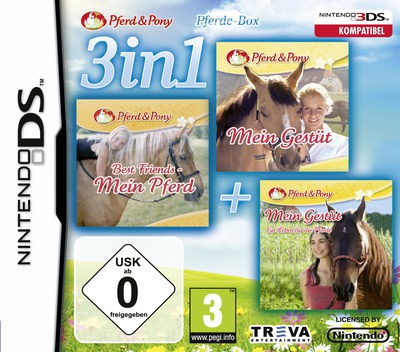 3 in 1 - Horses DS coverM (TCFP)