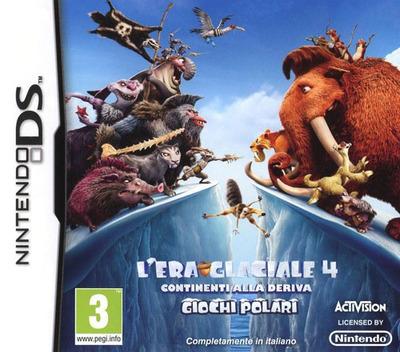 L'Era Glaciale 4 - Continenti alla Deriva - Giochi Polari DS coverM (TCGI)