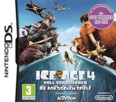 Ice Age 4 - Continental Drift - Arctic Games DS coverM (TCGX)