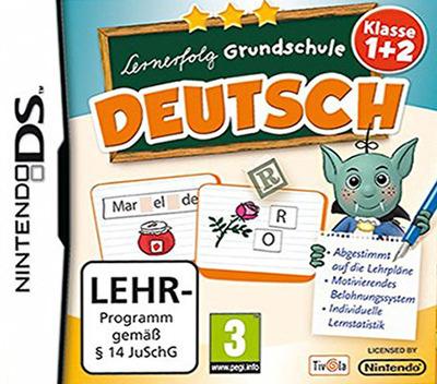 Lernerfolg Grundschule - Deutsch - Klasse 1+2 DS coverM (TLBD)