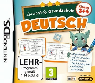 Lernerfolg Grundschule - Deutsch - Klasse 3+4 DS coverM (TLCD)