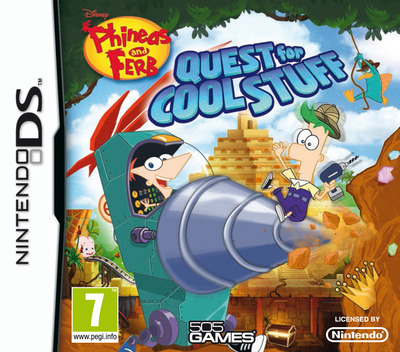 Phineas and Ferb - Quest for Cool Stuff DS coverM (TPFP)