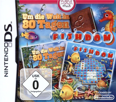 Around the World in 80 Days & Fishdom DS coverM (TR3D)
