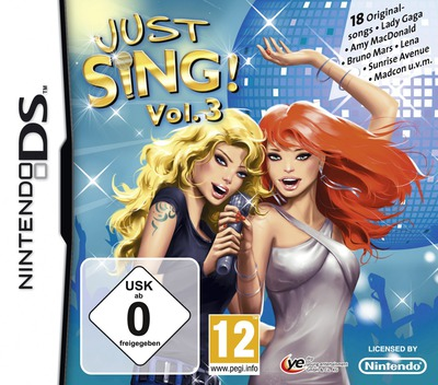 Just Sing! - Vol. 3 DS coverM (V3JP)