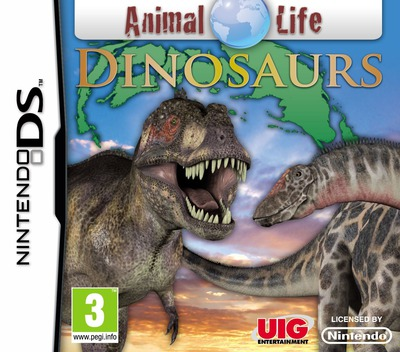 Animal Life - Dinosaurs DS coverM (VADP)