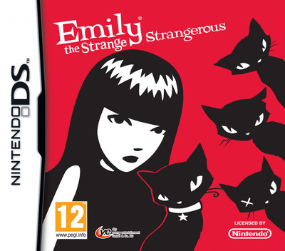 Emily the Strange - Strangerous DS coverM (VESV)