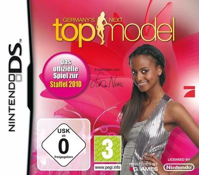 Germany's Next Topmodel - Das Offizielle Spiel zur Staffel 2010 DS coverM (VG3D)