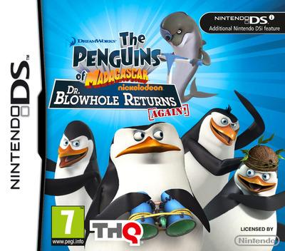 The Penguins of Madagascar - Dr. Blowhole Returns Again! DS coverM (VP9V)