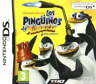 The Penguins of Madagascar DS coverM (VPEY)