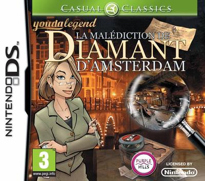 Youda Legend - The Curse of the Amsterdam Diamond DS coverM (VYGX)