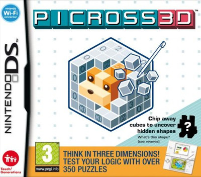 Picross 3D (Demo) DS coverM (Y6UP)