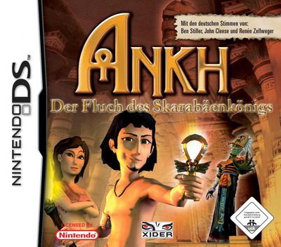 Ankh - Curse of the Scarab King DS coverM (YAKD)