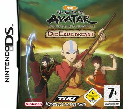 Avatar - Der Herr der Elemente - Die Erde Brennt DS coverM (YAVD)