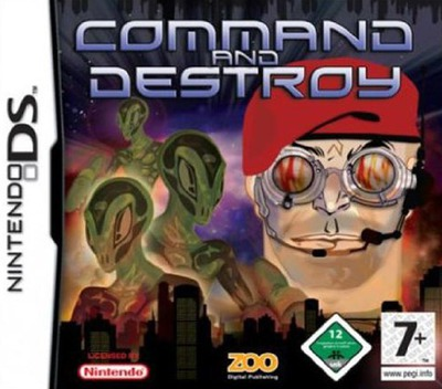 Command and Destroy DS coverM (YC5P)
