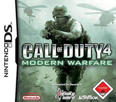 Call of Duty 4 - Modern Warfare DS coverM (YCOD)