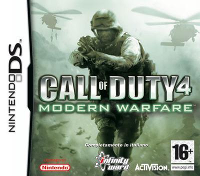 Call of Duty 4 - Modern Warfare DS coverM (YCOI)