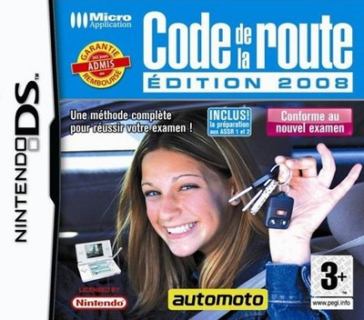 Code de la Route - Edition 2008 DS coverM (YCRF)