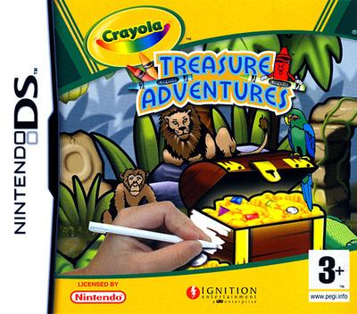 Crayola Treasure Adventures DS coverM (YCYP)
