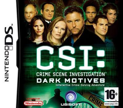 CSI - Crime Scene Investigation - Dark Motives DS coverM (YDMP)